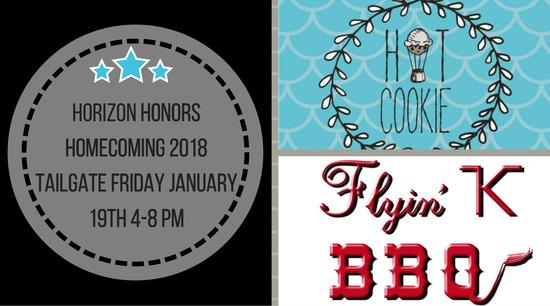 Horizon Honors Homecoming 2018 Tailgate