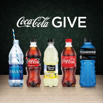 coca-cola social media image