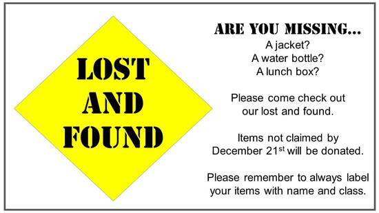 Lost and Found Slide