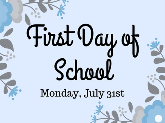 First Day of School (1)