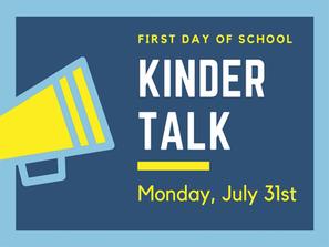 kinder talk